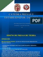 Exposición Presas de Tierra - Victor Andrés Cuba - UNSAAC CUSCO