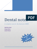 Dentistry Final