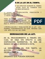 TEORIA DE LA LEY 1