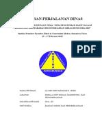 Laporan Perjalanan Dinas Seminar Perumah Sakitan 25 - 27 Februari 2015