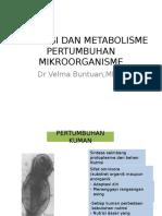 Fisiologi Dan Pertumbuhan Mikroorganisme