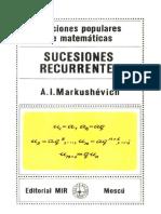 Markushévich - Sucesiones recurrentes
