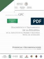 Diagnóstico y Tratamiento de La Epilepsia en El Adulto en El Primer y Segundo Nivel de Atención