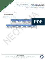 Datasheet Micro Motor Dc