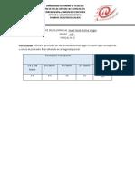 Promedio Autoevaluación 3er Parcial