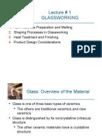Lecture 1 Glasswork Ch 12