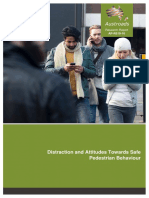 AP-R510-16 Distraction and Attitudes Towards Safe Pedestrian Behaviour