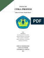 Makalah Etika Profesi Pdf