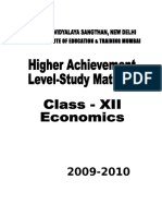 Revised Study Material - Economics Chandigarh