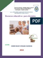 Catalogo de Recursos Educativos I