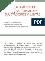 Exposicion Tornillos y Sujetadores