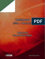 Prezentari ECDL Model 6