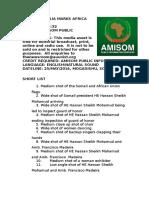 SOMALIA MARKS AFRICA DAY IN POMP