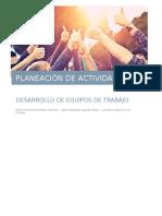 Planeación de actividades capacitación
