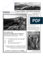 Diablo Watch Newsletter, Summer 2003 ~ Save Mount Diablo
