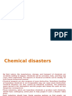 Chemical Man Made Disaster