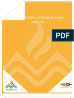 2010 Central American and Caribbean Games - Soccer Rules and Regulations