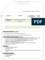 CV-format