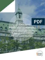 Vers une meilleure démocratie municipale