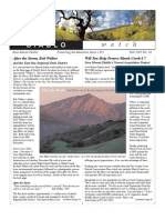 Diablo Watch Newsletter, Fall 2007 ~ Save Mount Diablo