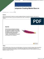 Top 12 Big Data Companies Creating Market Buzz on the Social Web