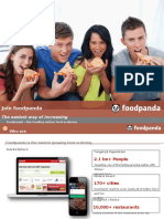 foodpanda proposal