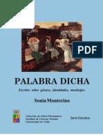 Palabra Dicha (Sonia Montecino)