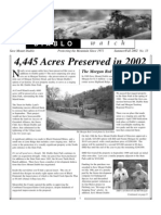 Diablo Watch Newsletter, Fall 2002 ~ Save Mount Diablo