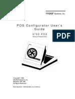 3700 POSConfigurator Manual