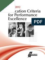 2011 2012 Education Criteria
