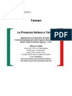 Italian Companies in Taiwan Updated 201409