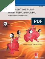 EBARA Catalogue Fire Pump