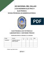 LABORATORIO RECTIFICADOR DE ONDA COMPLETA CONTROLADO -ELECTRÓNICA DE POTENCIA