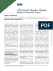 Poor Prognosis of HIV-Associated Tuberculous Meningitis Regardless of the Timing of Antiretroviral Therapy