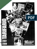 El Vocero - Tarifario 2007-2008