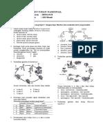 Soal Un Biologi Xii Ipa (Lat 3)