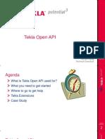 Vietnam - Introduce Tekla Open API