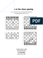 Tactics in Junior Openings