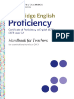 Cpe Hanbook for Teachers