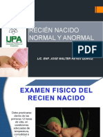 Recien Nacido Normal y Anormal