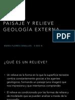Paisaje y Relieve . Geología Externa