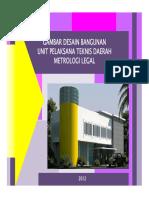 Buku - Desain Bangunan UPTD Metrologi Legal 2013