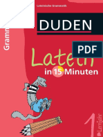 Duden - Latein in 15 Minuten