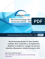 Nanotechnology Market Analysis, Market Size, and Application Analysis 2016-2021