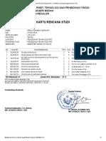 Kartu Rencana Studi (KRS) - UNIMED Learning Management Services