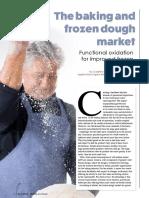 The baking and frozen dough market