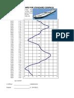 Борискин - Magnetic Compass Deviation Card - 2007