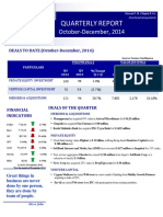 Quarterly Report Oct Dec 2014