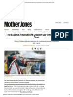 the second amendment doesnt say what you think it does   mother jones