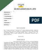 POLICIA MILITAR - AUTO DE PRISÃO EM FLAGRANTE DELITO - APFD